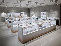 Nendo adds backyard elements to retail space for by n. Design Shop, Shop Front Design, Kiosk Design, Retail Store Design, Retail Shop, Retail Displays, Shop Displays, Window Displays, Commercial Design