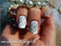 Adryenn Beauty: Alkalmi csipke köröm lépésről-lépésre