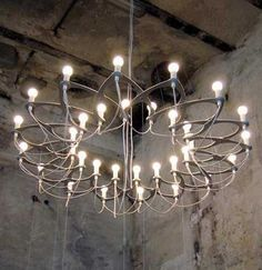 Ornametrica, unique and versatile geometric chandelier designed by Icelandic designers Aleksej Iskos and Adalsteinn Stefansson.