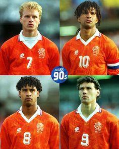 Pays-Bas Euro 1992 Football Icon, Best Football Players, World Football, Football Jerseys, Ruud Gullit, Marco Van Basten, Different Sports, Kids Soccer, All Star