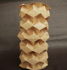 Cylindrical origami II - XVII XII MMVIII | Flickr - Photo Sharing!