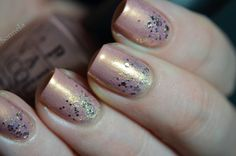 OPI - A Butterfly Moment  A England - She Walks In Beauty