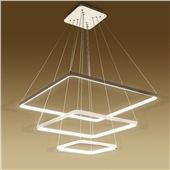 Buy (EU Lager)Led Pendelleuchte Acryl aus 3 Ring im Wohnzimmer Schlafzimmer with Lowest Price and Top Service!
