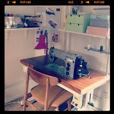 #sewingroom #workspace