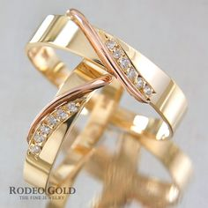 Gold engagement rings TCR00391