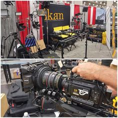 We're completely set up at CCW! Come by our booth 1460 for ikan tech and news today and tomorrow. ⭐️⭐️⭐️ #ikan #ikancorp #CCW #ccw2015 #newyork #javitscenter #production #gear #equipment