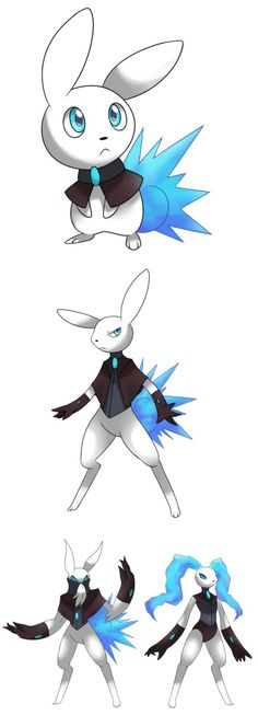 Oo I have name ideas, volbunny, electabbit and shockare p.s it should be an electric ice pokemon!!!