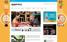 Σχεδιασμός & κατασκευή ενημερωτικού portal (blog) σε wordpress για το Agapimono στην Αθήνα. Mobile friendly site με προώθηση SEO και διασύνδεση Social σελίδων.