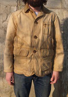 Vintage 1950's Hunting Jacket by Objectamericana on Etsy