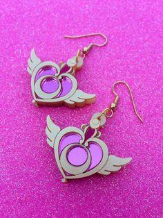 Crisis Moon Dangle Earrings