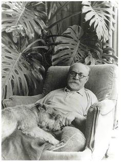 Henri Matisse in his studio, Hotel Regina, Nice, 1948