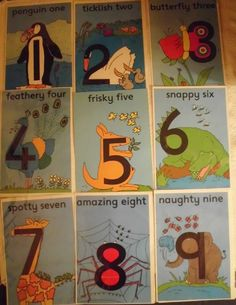 I love number Zoo, the children I work with love number zoo, they love the stories... I'm going to make each animal to go with each number story xx