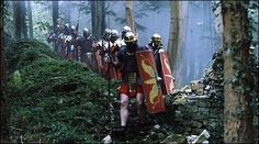 Battle of Teutoburg Romans