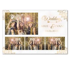 Gold White Feather Photobooth Postcard (Digital File) by on Etsy Photo Booth Design, Photo Booth Frame, Diy Photo Booth, Photo Props, Photo Booth Pictures, Photo Booths, Photobooth Layout, Photobooth Template, Sweet 15 Invitations