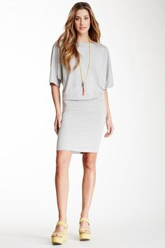 Boatneck Dress by Go Couture on @HauteLook
