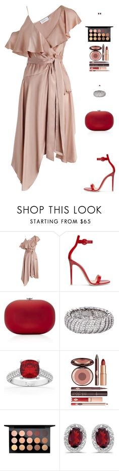 """""""Sin título #4901"""" by mdmsb ❤ liked on Polyvore featuring Zimmermann, Gianvito Rossi, Jeffrey Levinson, Allurez, Charlotte Tilbury and MAC Cosmetics"""