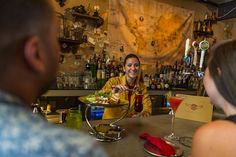 Disney World Food and Restaurants | Jock Lindsey's Hangar Bar at Disney Springs Wins Coveted VIBE Award for 'Best Beverage Menu'
