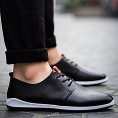 Pu Leather Solid Casual Shoes for Mens,Cheap Trendy on Sale!