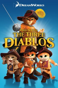 All - New Adventure Puss in Boots : The Three Diablos DVD ~ Dreamworks Pre-Owned Dreamworks Studios, Dreamworks Movies, Dreamworks Animation, Animation Movies, Pixar Movies, Disney Movies, Shrek, Movies To Watch Free, Great Movies
