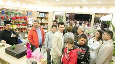 Εγκαίνια Χρωματοπωλείο ΚαλαμαριάςTetralux Stores News