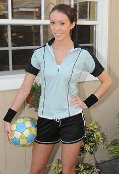Soccer babe striptease slideshow