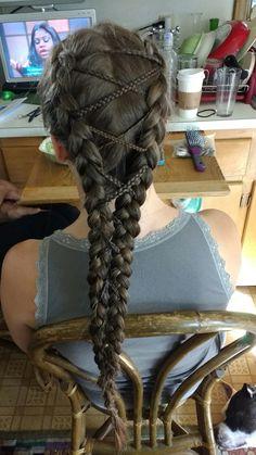 Corset braids