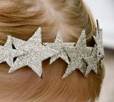 Estrellas y tocados de pupurina ¡súper idea!