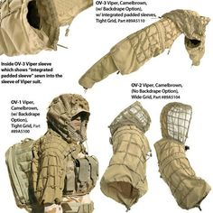 OC concealment system, perfect for scouts and sniper teams