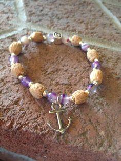 Items similar to Anchor Olive Gratitude Bracelet on Etsy Handmade Bracelets, Beaded Bracelets, Handmade Gifts, Fashion Bracelets, Gratitude, Anchor, Pairs, Gemstones, Trending Outfits