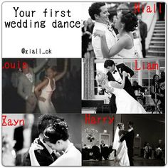 My first wedding dance will be to a song called Blue Moon by Mr Elvis Presley.