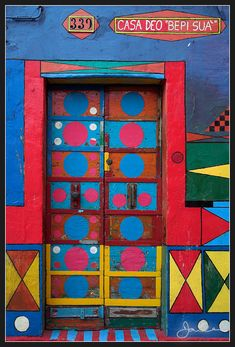"""Abstract House,"" Burano, Italy 