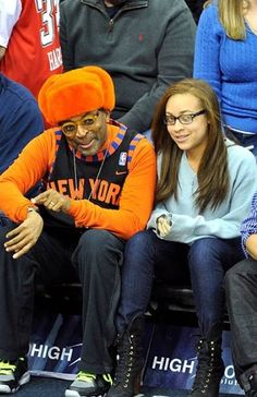Spike & his daughter @ the Garden.