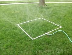 Great Idea for a play sprinkler or a garden watering device