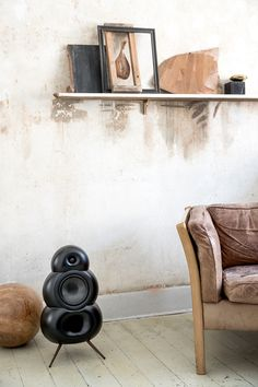 Podspeakers UK New development of the fabulous Scandyna Podspeaker range Hifi Speakers, Hygge, Your Space, Wine Rack, Create Yourself, Cool Designs, Shelves, Cabinet, Storage