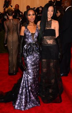 Double Trouble: The Well-Dressed Duos of the 2013 Met Gala Gala Dresses, Dresses 2013, Met Gala Red Carpet, Stylish Couple, Costume Institute, Red Carpet Looks, Red Carpet Fashion, Kerry Washington, Well Dressed