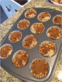 Postpartum Freezer Meal Preparation: Strawberry Banana Honey Bunches of Oats Muffins (yes, you read that correctly!) http://www.divinegenesis.com/doula-in-denver-blog