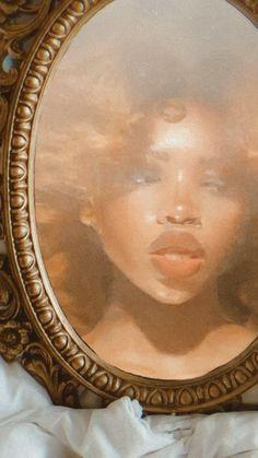 Black Girl Art, Black Women Art, Art Girl, Black Girl Aesthetic, Aesthetic Art, My Funny Valentine, Black Artwork, Afro Art, Magic Art