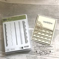Stampin' Up! Sale-A-Bration Wednesday, Delicate Details, Video Tutorial