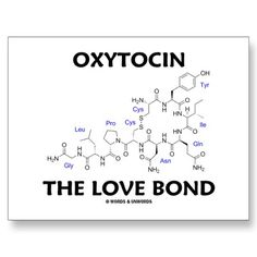 Oxytocin The Love Bond (Chemistry) Post Card