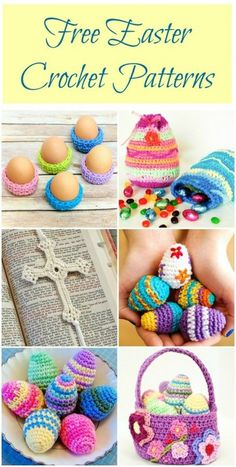 Free Easter crochet patterns #crochet #Easter #patterns.