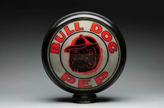 Original Bull Dog Pep Gas Globe