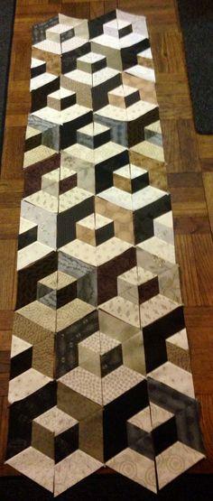 https://www.flickr.com/photo.gne?rb=1&short=imwdG1 | Got all the half-hexagons sewn together