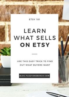 """As Etsy Sellers, we spend all our energy on one crazy life-or-death quest: """"how can I make more sales?!?!?!""""…BUT let's all just pause and take a breath for a minute. There's an even MORE important question that you're not asking. (Are you ready for it? Should I do a countdown?) Here it is: Why do SOME items sell on Etsy and not others? How can we sell stuff on Etsy if we don't know WHAT and WHY people are buying? Learn how to get a handle on what makes buyers spend money."""