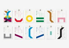 Gorgeous, Minimalist Posters Of The Famous London Underground Tube Lines - DesignTAXI.com
