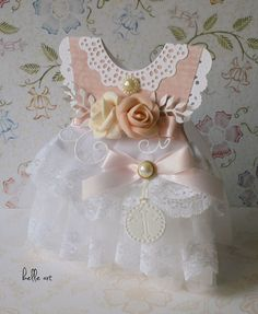 belle art: Sukienka w tiulu i koronce