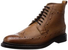 Clarks Mens Smart Edward Lord Leather Boots In Tan: Amazon.co.uk: Shoes & Bags