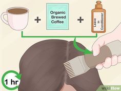 Dye Your Hair With Tea, Coffee, or Spices 3 Ways to Dye Your Hair With Tea, Coffee, or Spices – wikiHow – Farbige Haare Diy Hair Dye, Dye My Hair, Dyed Natural Hair, Natural Hair Styles, Diy Haarfärbemittel, Professional Hair Dye, Coffee Hair Dye, Grey Hair Remedies, Dying Your Hair
