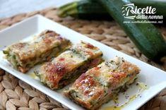 Ricetta parmigiana bianca di zucchine Vegetable Recipes, Vegetarian Recipes, Cooking Recipes, Love Eat, Antipasto, Pasta Dishes, Raw Vegan, Finger Foods, Food Inspiration