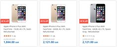 New Offers and Deals: 29% OFF Refurbished iPhones at Souq.com Saudi Arabia  Refurbished iPhones Apple certified pre-own Good as new save up to 29% OFF  Souq.com Delivers to your doorstep. Avoid traffic and parking hassle and ORDER NOW!  Souq accepts online payment from all major credit cards and cash on delivery.  ORDER NOW  Save  The post 29% OFF Refurbished iPhones at Souq.com Saudi Arabia appeared first on EDEALO.  http://ift.tt/2cbFBWj
