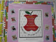 high school english bulletin board ideas | Character Education Resources for Teachers | The Cornerstone